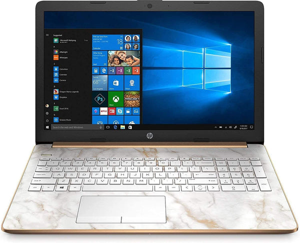 "(Renewed) HP 15 15.6"" Touchscreen Laptop Computer, AMD Athlon 300U Up to 3.4GHz (Beats i5-8250U), 8GB DDR4 RAM, 256GB PCIe SSD, DVDRW, AC WiFi, Bluetooth 4.2, Copper, Windows 10"