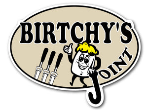 Birchy's Joint Decal
