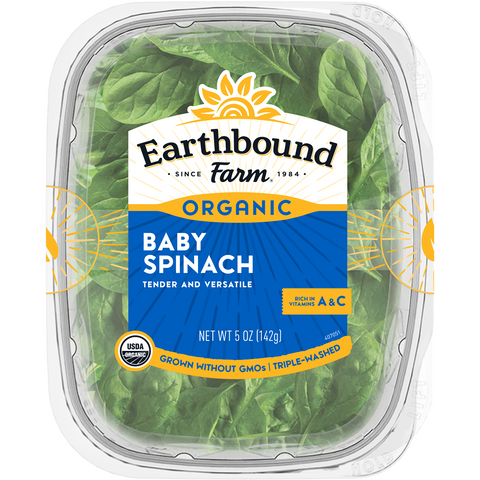 Organic Spinach Earthbound Farm