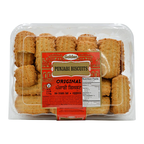 Golden Punjabi Biscuits, Original Cookies
