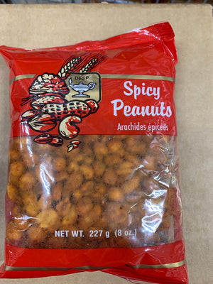 Deep spicy peanuts