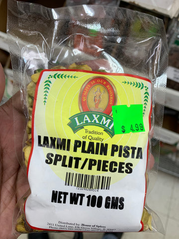 Laxmi Plain Pista (Split/ Pieces)