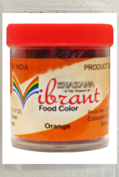 Vibrant Food Color Orange