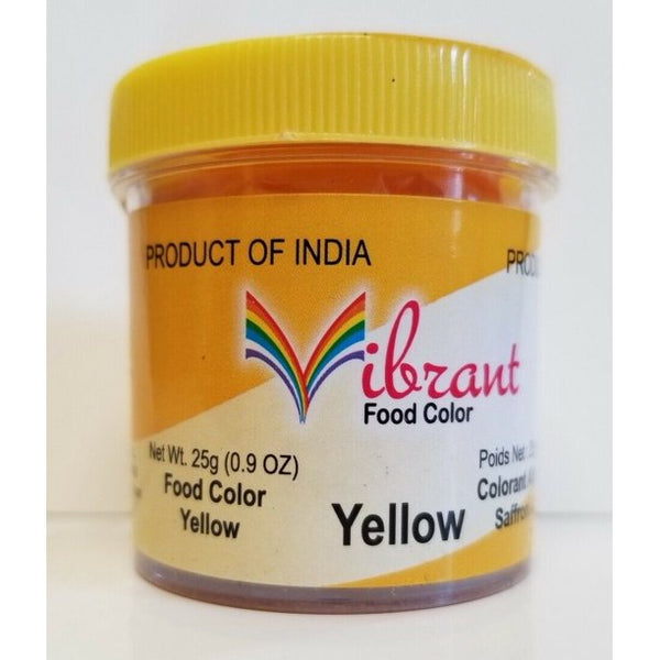 Vibrant Food Color Yellow