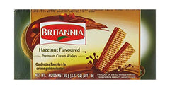 Britannia Hazelnut Flavored Cream Wafers