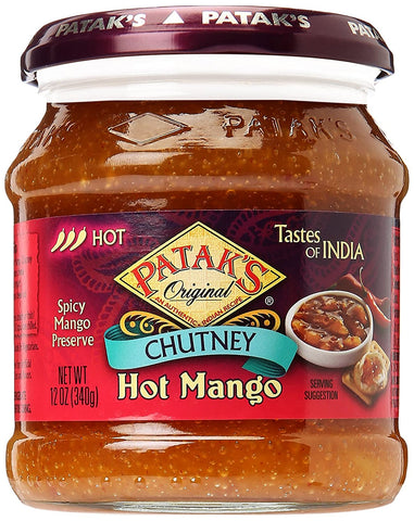 Patak Hot Mango Pickle