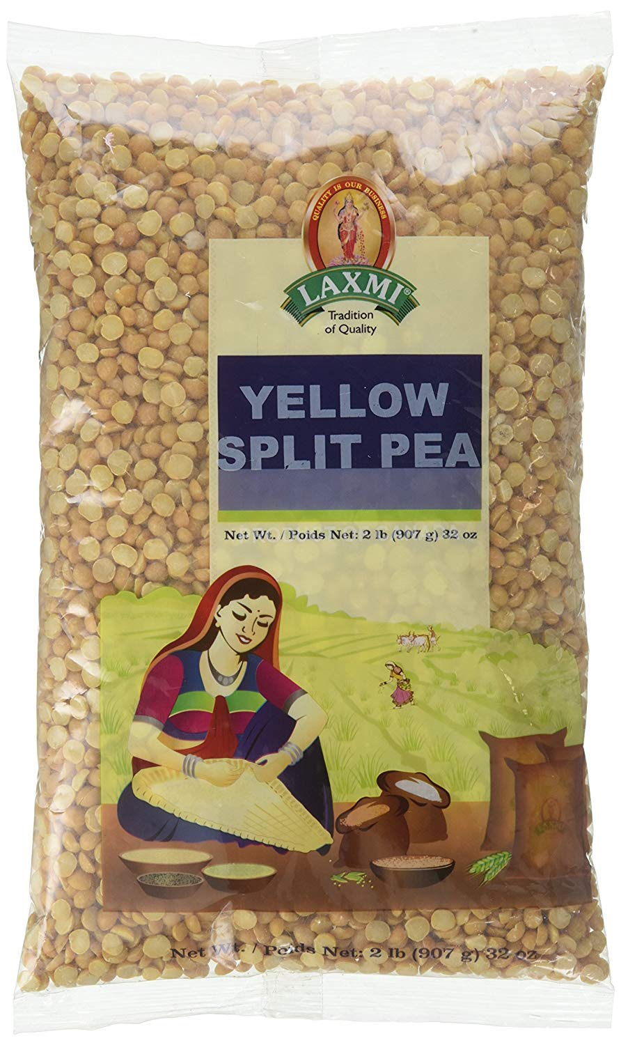 Laxmi Yellow Split Peas