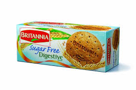 Brittania Suger Free Digestive cookies