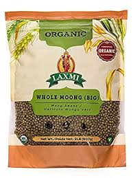 Laxmi Organic Whole Moong