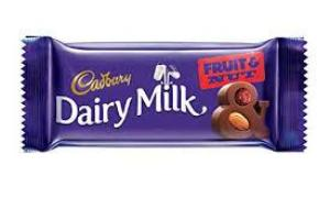 Dairy Milk Fruit and Nuts
