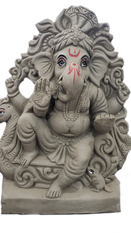 Ganesh Idol (Clay)