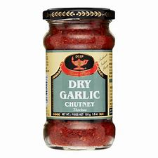Deep dry Garlic chutney