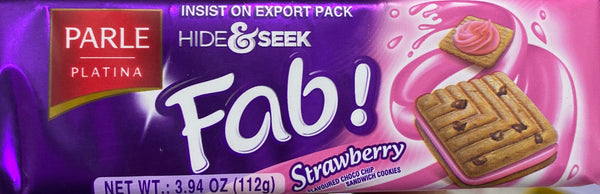 Parle hide & seek Fab Strawberry biscuits