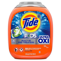Tide Ultra OXI Pods 104 Count
