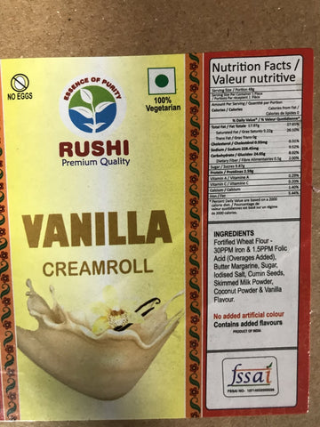 Rushi Cream Roll Vanilla
