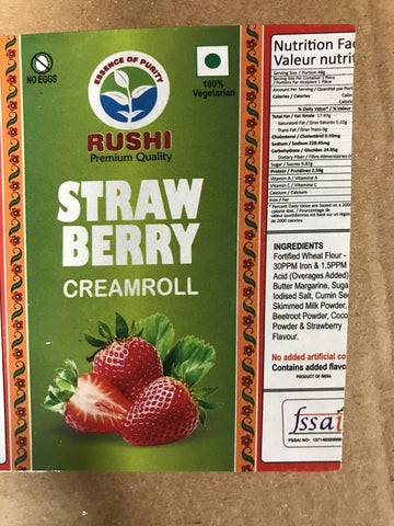 Rushi Cream Roll Strawberry