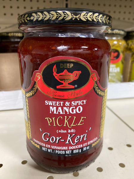 Deep Sweet & spicy Mango Pickel 'gor - Keri'