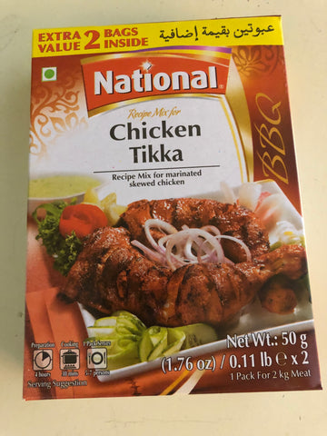 National chicken tikka