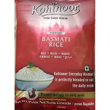 ** Kohinoor everyday basmati rice **