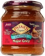 Pataks Major Grey Chutney (Sweet Mango with Ginger)