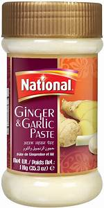 National Ginger & Garlic Paste