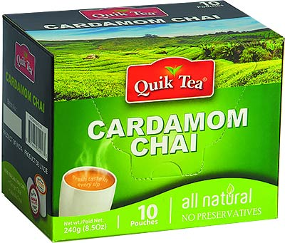 Quick Tea Cardamom Chai
