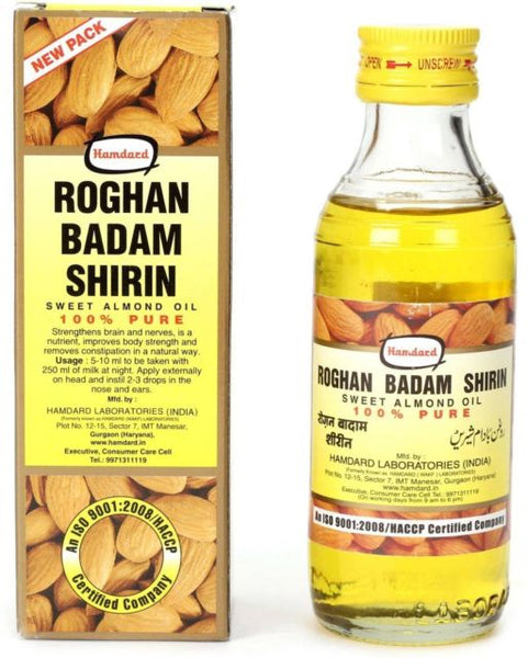 Hamdard - Roghan Badam Shirin Sweet Almond Oil