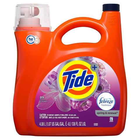 Tide High Efficiency Liquid 81 Loads