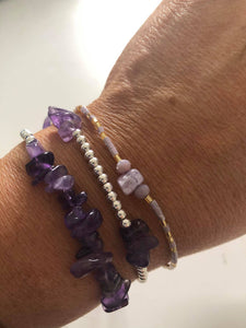 Earth Crystals bracelet