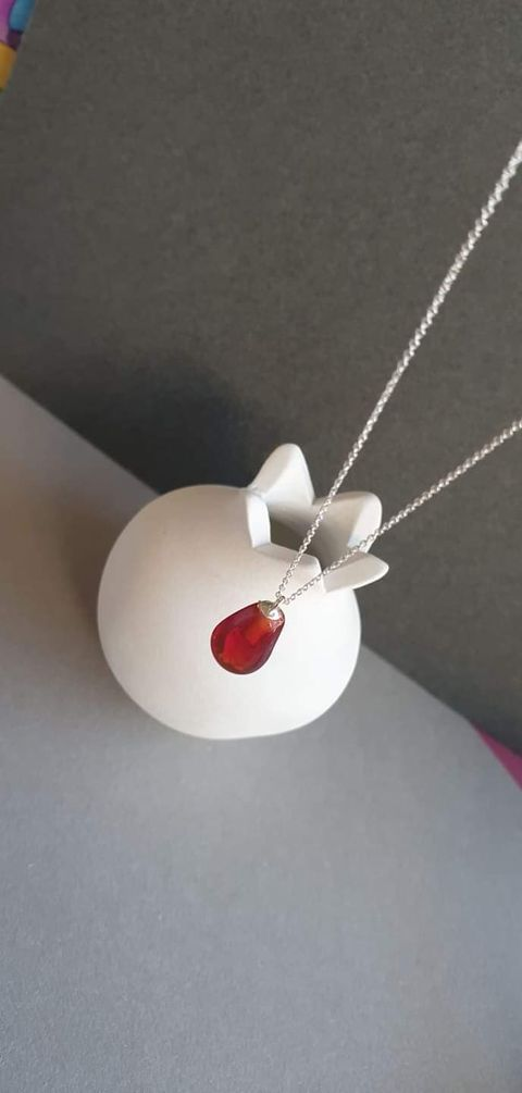 My Lucky Pomegranate necklace