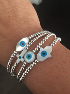 Eye catching bracelet