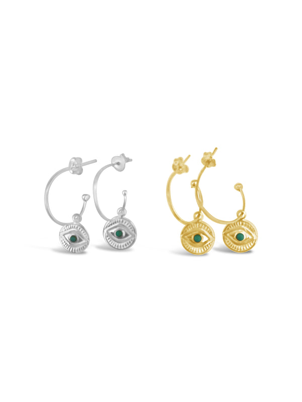 Eye power earring