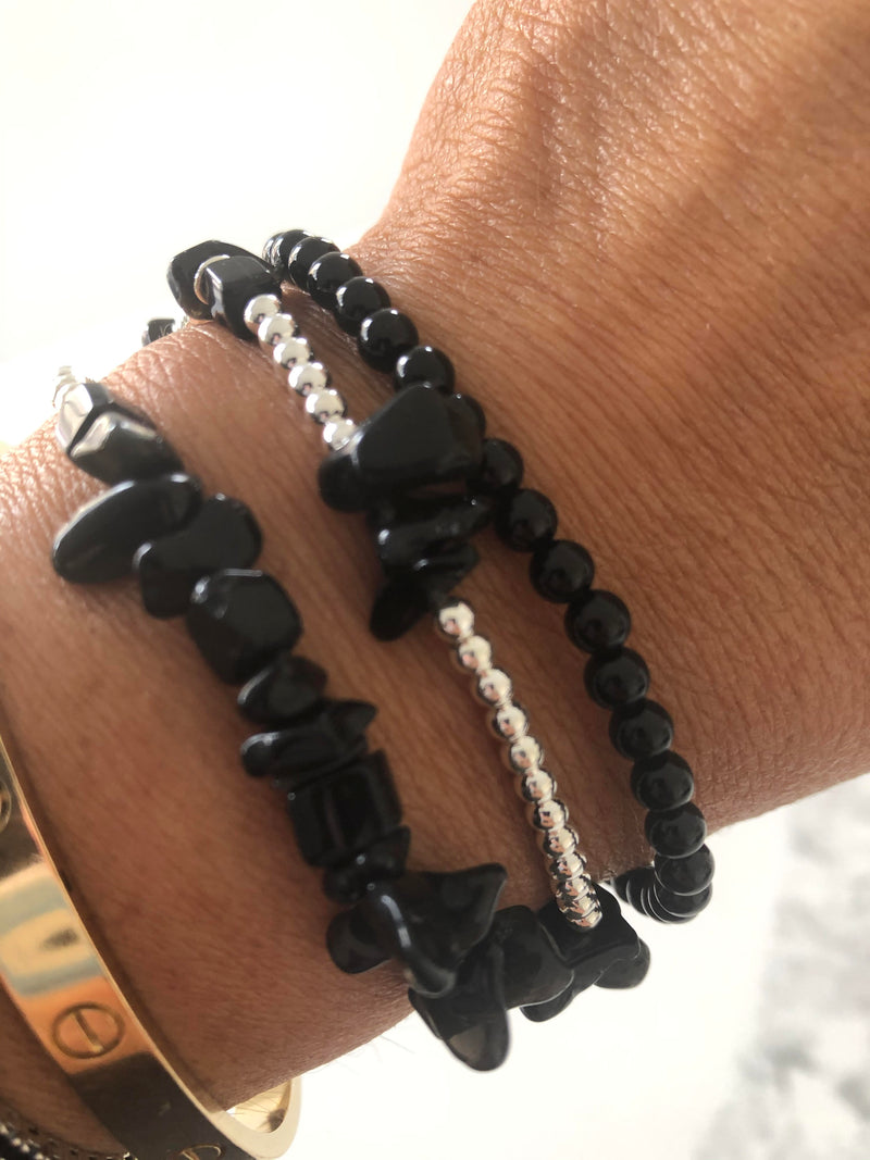 Wear for strength & protection bracelet set