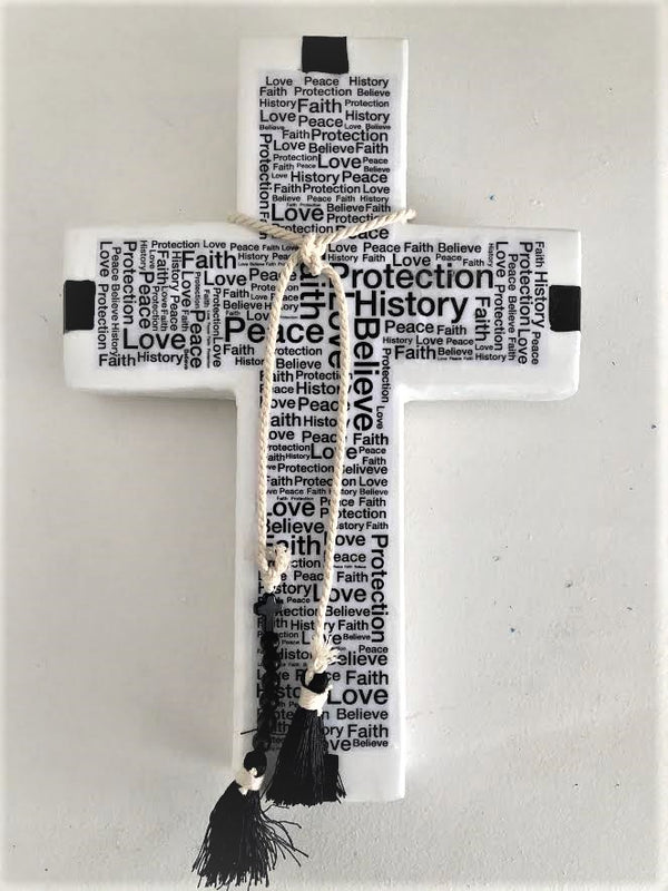 Power of Faith Cross Tile