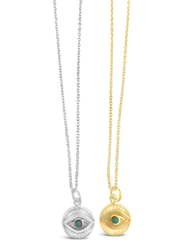 Eye power necklace