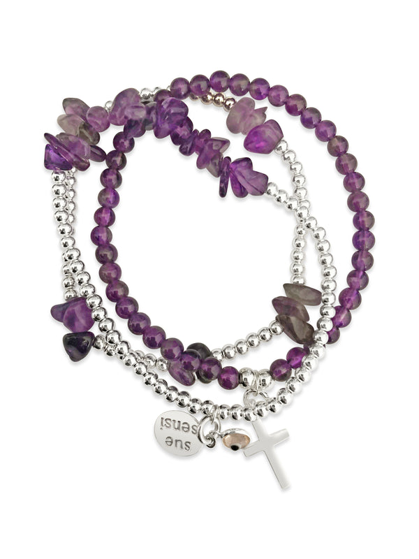 Wear for healing & calming bracelet set