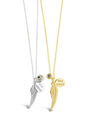 Lets fly necklace