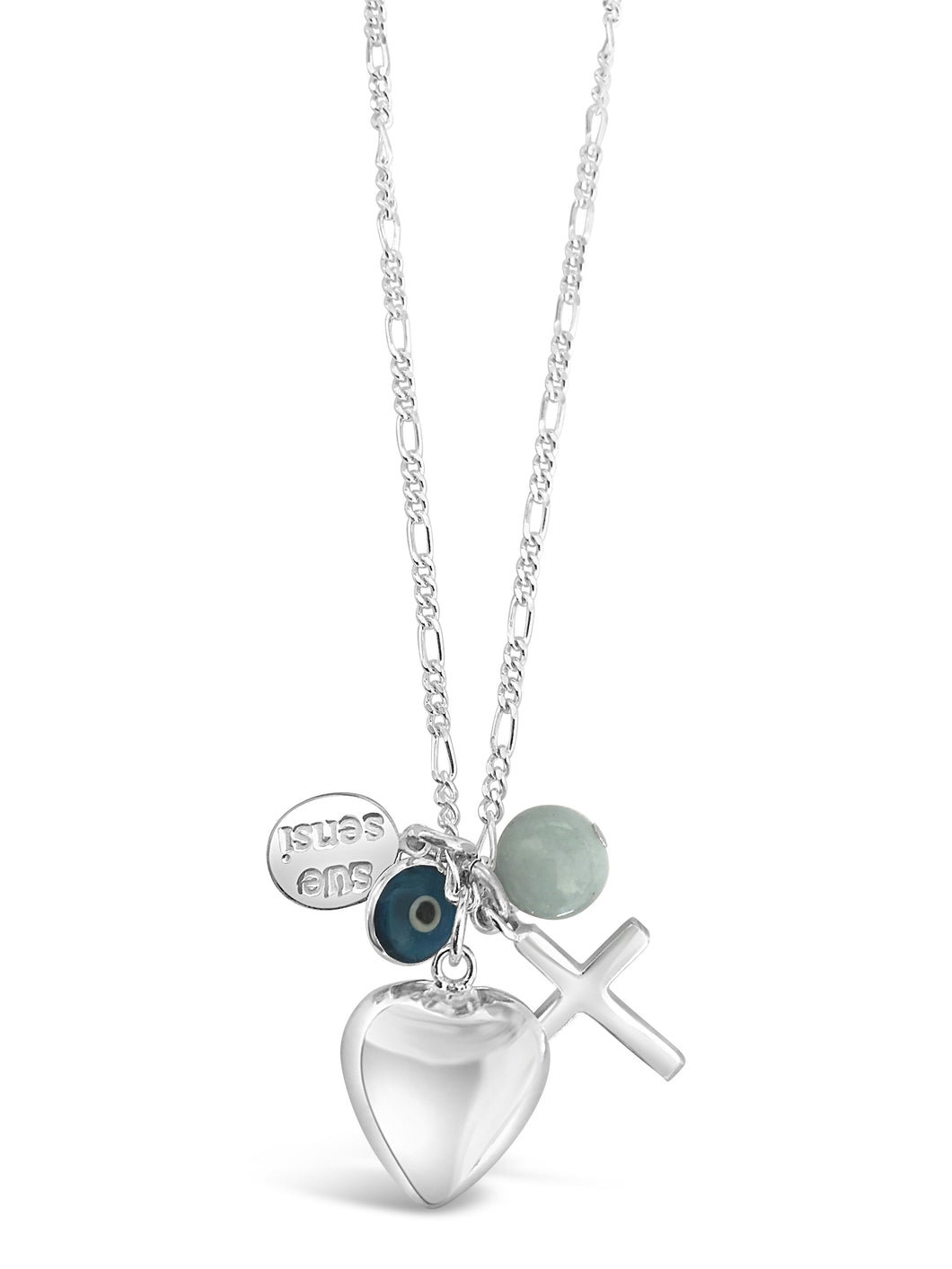 Love faith protection necklace