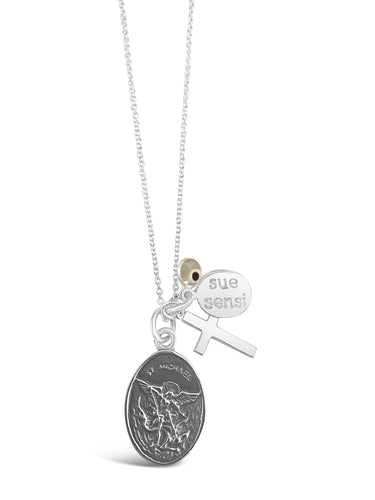 St Michael necklace