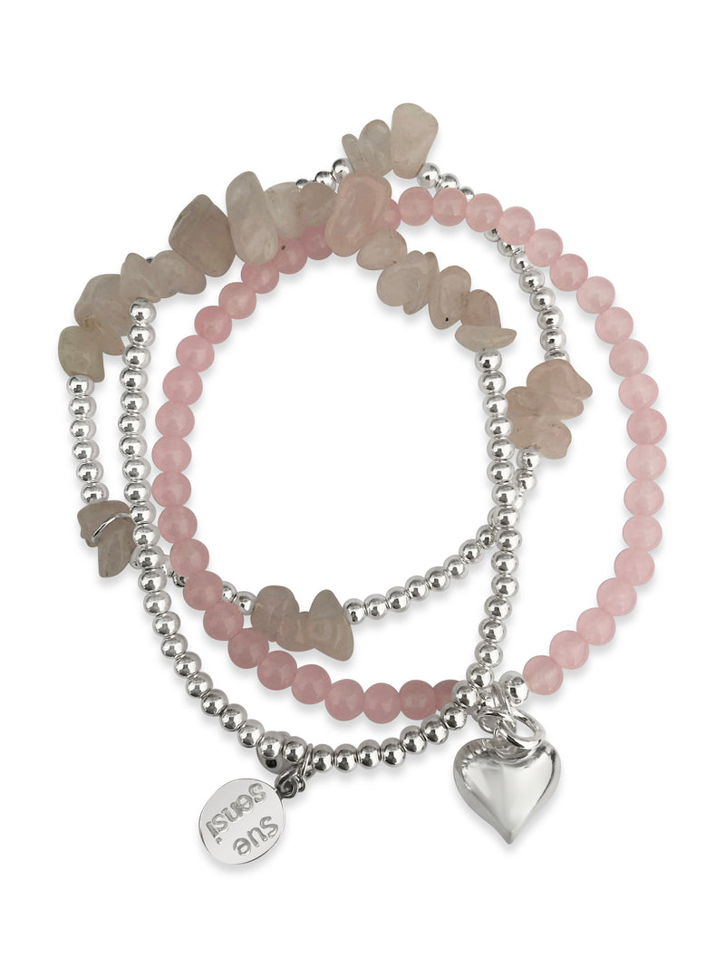 Wear for love & protection bracelet set