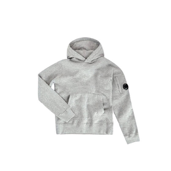Sweat Gris à Capuche (4788871692351)