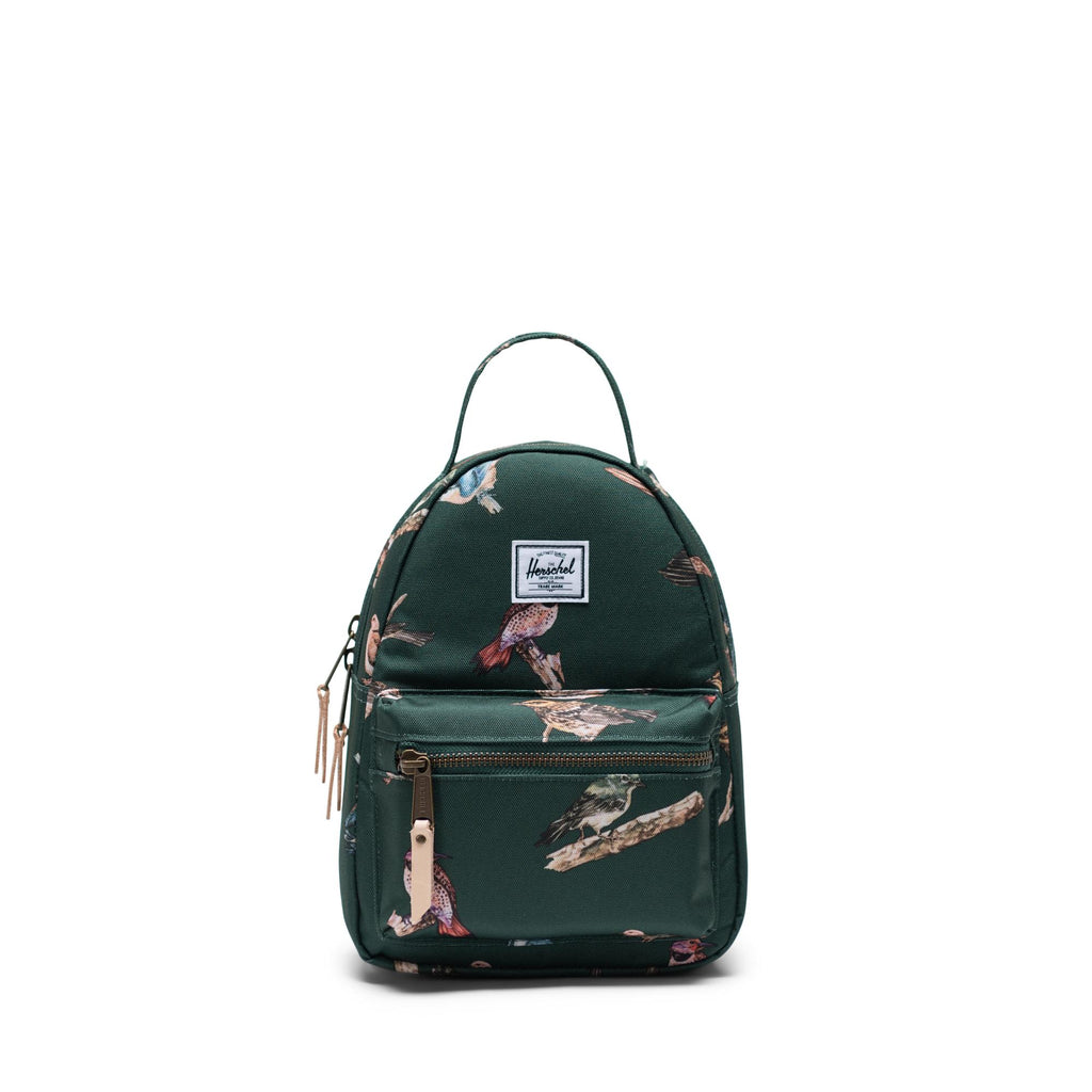 Nova Mini Dark Green Birds (4731819130943)