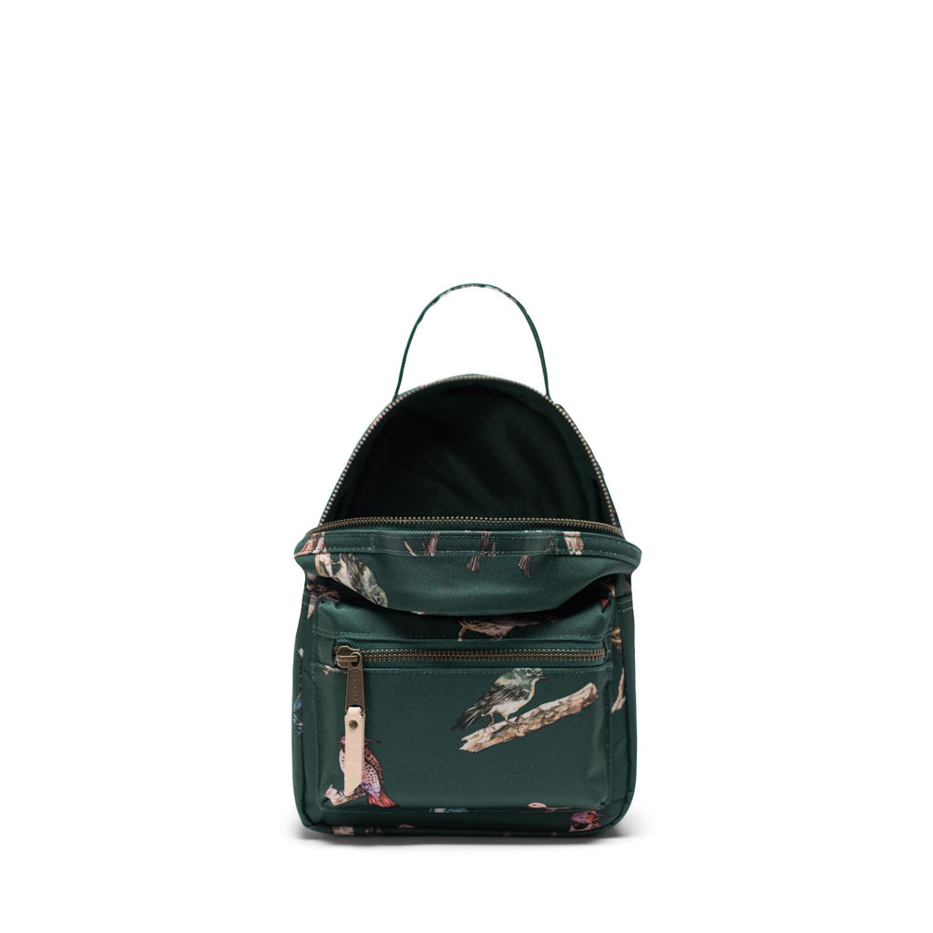 Nova Mini Dark Green Birds