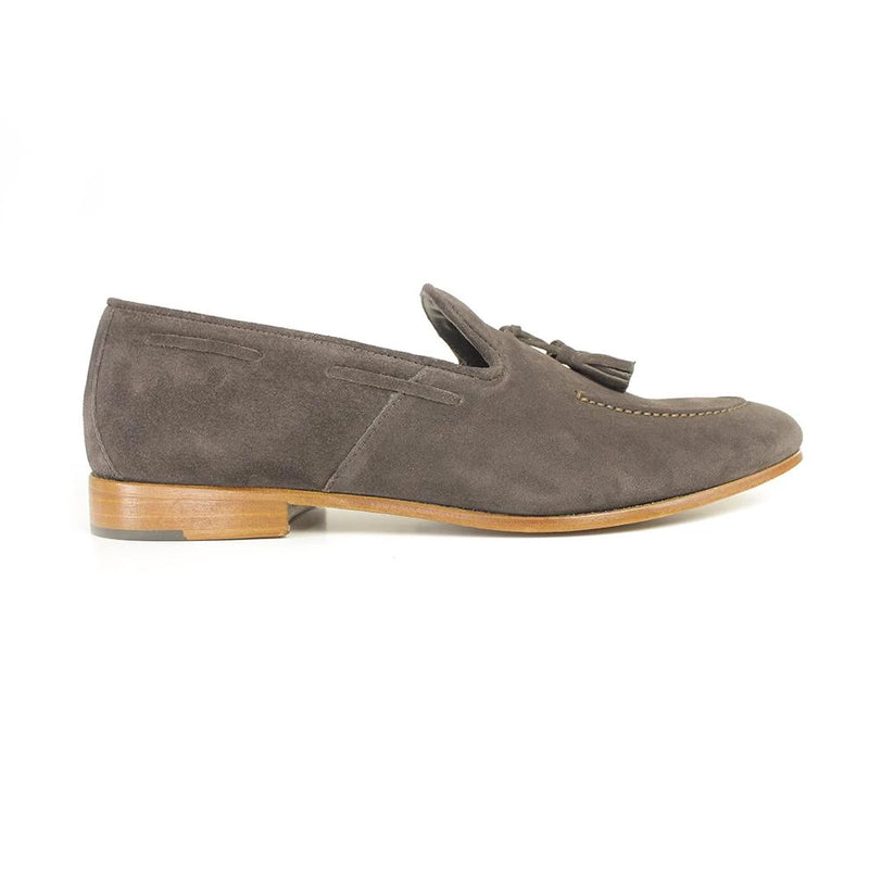 Mocassins Pompon Brown-MARALEX-Maralex Paris
