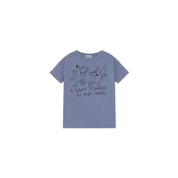 DANCING BIRDS T-SHIRT-BOBO CHOSES-Maralex Paris