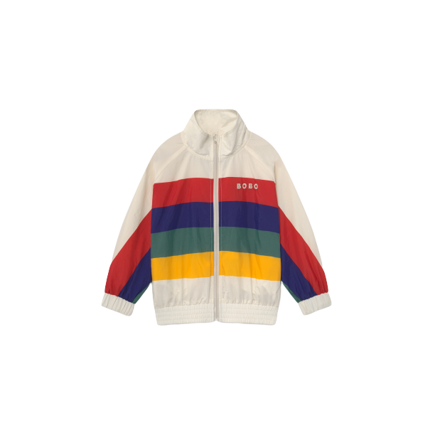 MULTICOLOR TRACKSUIT JACKET