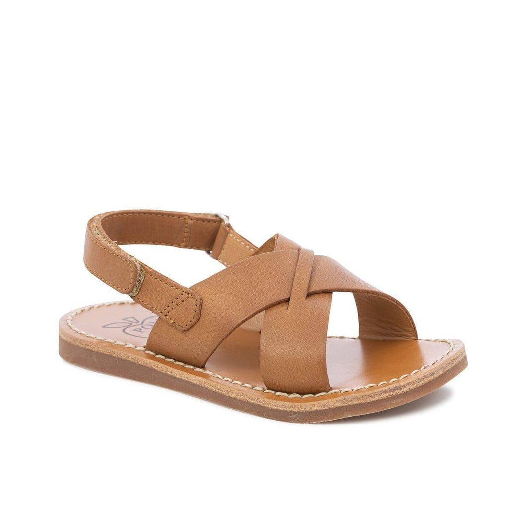 Plage Stitch Cross Camel-POM D'API-Maralex Paris