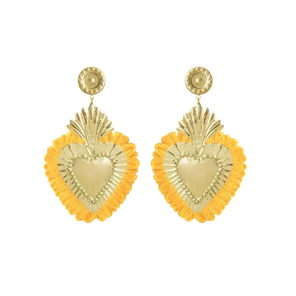 THE HEARTS GOLD YELLOW FRINGE (6606455570495)