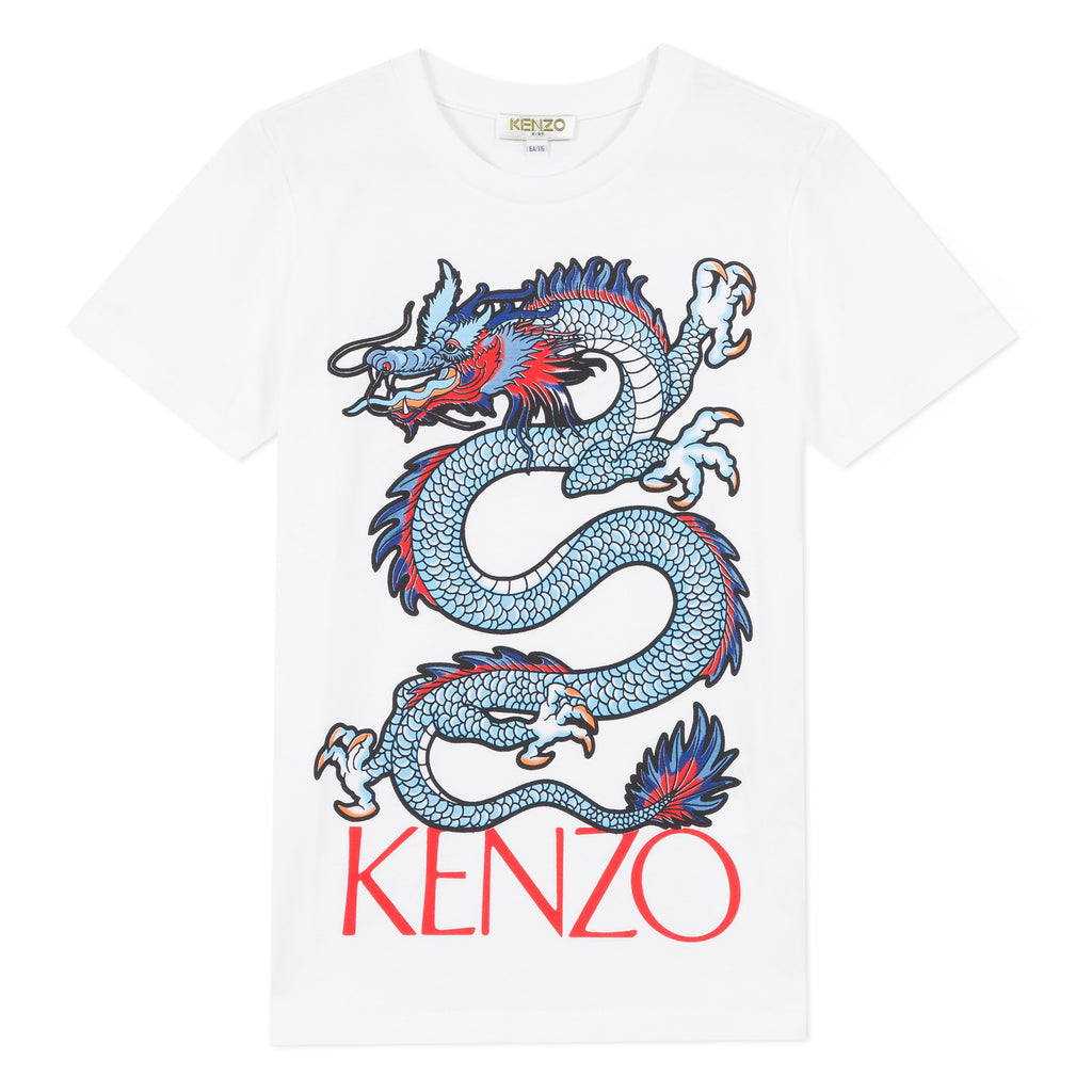 JAO T-SHIRT DRAGON-KENZO KIDS-Maralex Paris