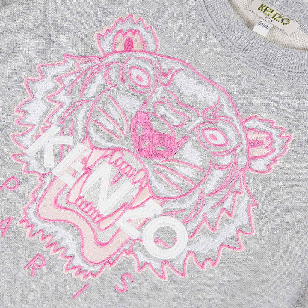 SWEATSHIRT TIGER JG B2-KENZO KIDS-Maralex Paris